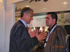 Claudio Sabbatini e gennaro Ruffolo Milano 2007
