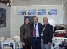 Gennaro Ruffolo Claudio Sabbatini e Giancarlo Caporilli