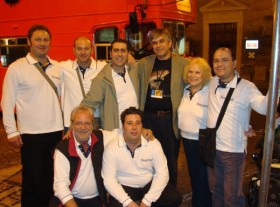 Gruppo con Alexander Djmitriev