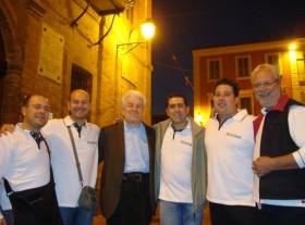 Gruppo con Paolo Gandolfi