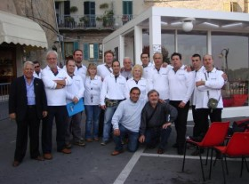 La DAO in piazza al centro di Castelfidardo