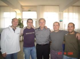 Gruppo di amici con Frank Marocco