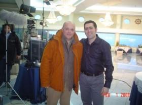 GENNARO RUFFOLO e Paolo Marra dietro le quinte di Video Calabria