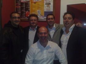 Vincenzo Barbalarga, Mauro Ciarcelluti,Gennaro Ruffolo, Mirko Az