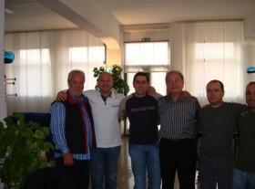 Giancarlo Caporilli, Gianni Mirizzi,Gennaro Ruffolo, frank Maroc