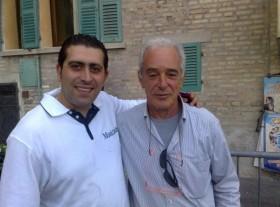 Gennaro Ruffolo e Filippo Azzalin