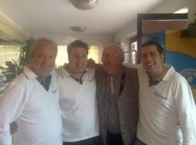 Giancarlo Caporilli, Mirko Azzalin, PINO DI MODUGNO e Gennaro Ru
