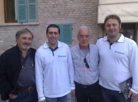 Armando Siviero, gennaro Ruffolo, Filippo Azzalin e Carlo Marino