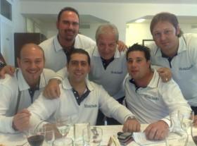 Gruppo DAO nel ristorante