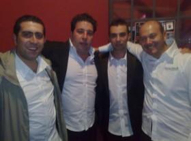 Gennaro Ruffolo, Mirko Azzalin, Alberto Vualguarnera e Gianni Mi