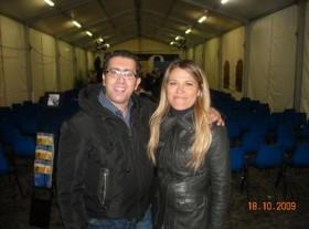 Gennaro Ruffolo e Francesca Santini